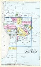 Lake Mills Village, Jefferson County 1899